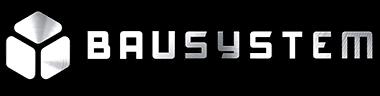bausystem logo chrom